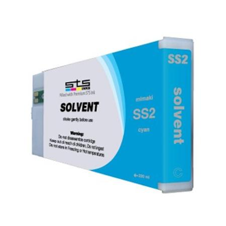 Compatible Light Cyan Mimaki SS2LC Eco-Solvent Ink Cartridge