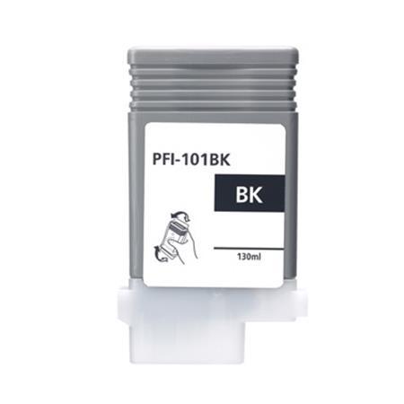 Compatible Black Canon PFI-101BK Ink Cartridge (Replaces Canon 0883B001AA)